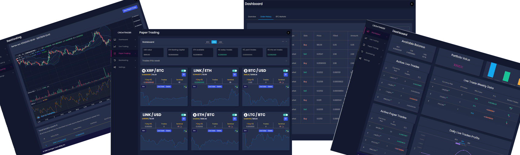 Algorithmic Crypto Trading Bot Now With CoinBasePro & Binance!