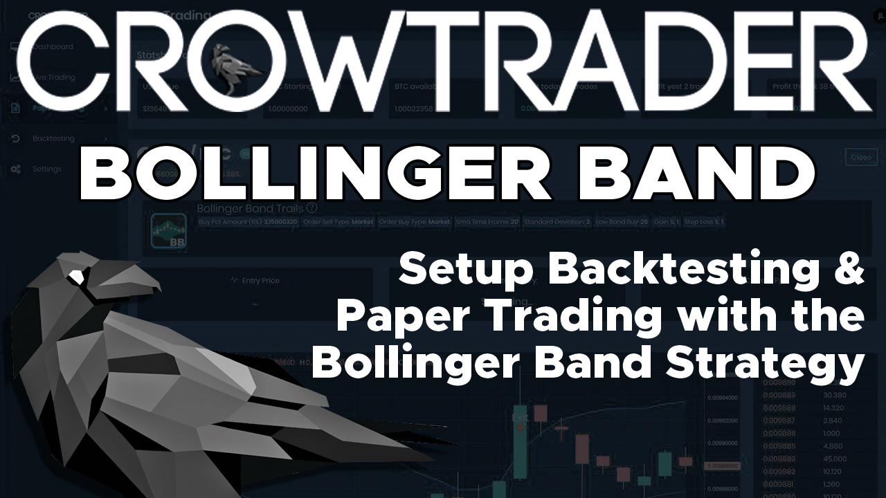 CrowTrader Bollinger Band Strategy & Backtesting - Bot Trading